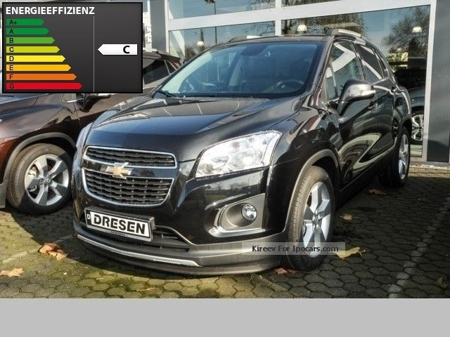 2012 Chevrolet  Trax 1.4 LT FWD MSRP 22,255, EUR incl Overpass Other New vehicle photo