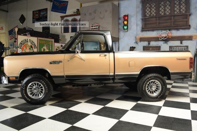 1986 Dodge Prospector Gallery
