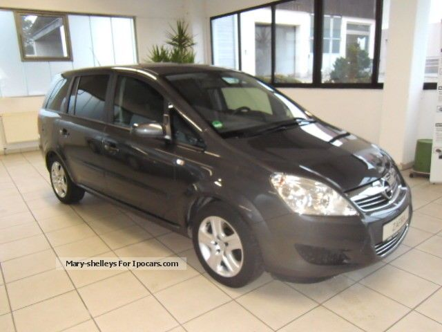 2009 opel zafira 1 8 edition car photo and specs. Black Bedroom Furniture Sets. Home Design Ideas