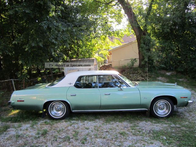 Plymouth  Fury III Brougham V8 \ 1974 Vintage, Classic and Old Cars photo