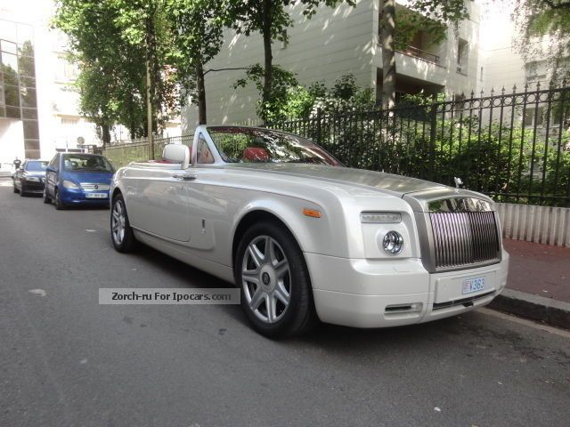 2013 Rolls Royce  6.75 Phantom V12 Convertible A Cabriolet / Roadster Used vehicle photo