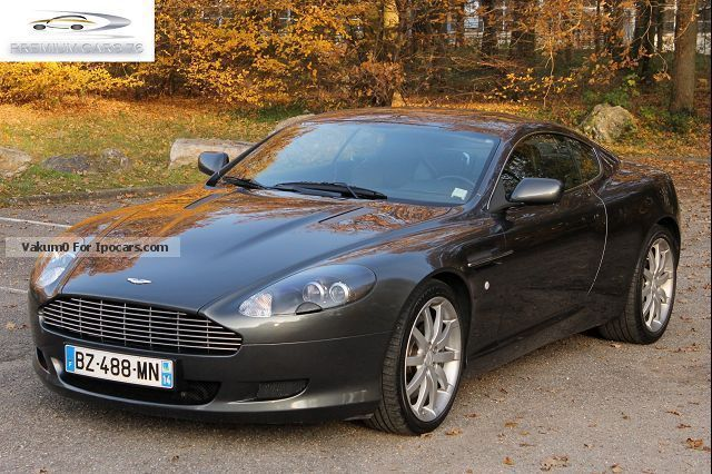 2004 Aston Martin Db9 Coupe 59 V12 Touch Tronic Car Photo And Specs