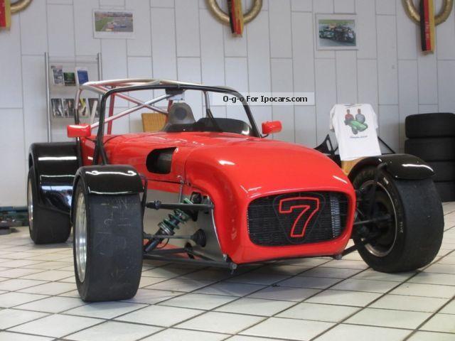 Caterham  Super Seven R400 racing car 2001 Race Cars photo