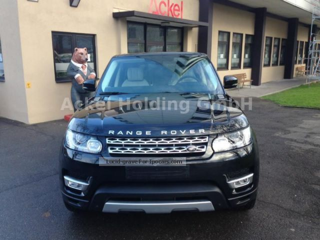 2012 Land Rover  RR Sport SDV6 Autobiography Dynamic MY 2014 Off-road Vehicle/Pickup Truck New vehicle photo