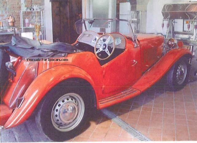 MG  TD Other - 1953 1953 Vintage, Classic and Old Cars photo