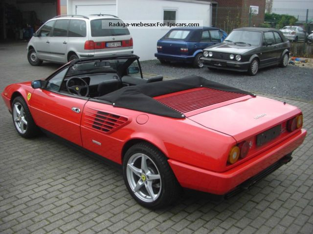 1987 ferrari mondial convertible spider 52000 km car photo and specs. Black Bedroom Furniture Sets. Home Design Ideas