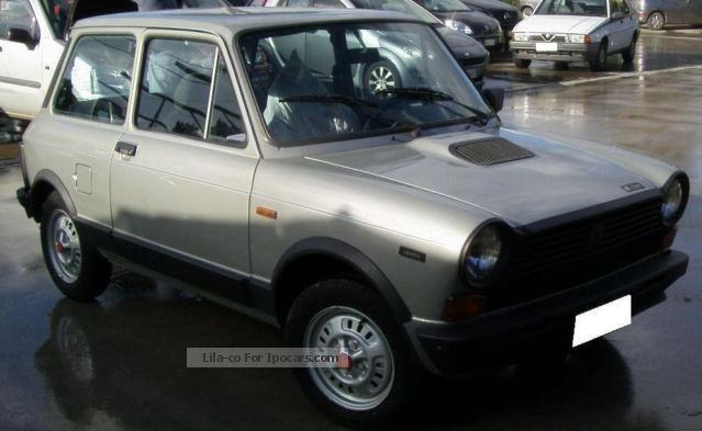 1982 Abarth  A112 Abarth Small Car Classic Vehicle (  Accident-free ) photo