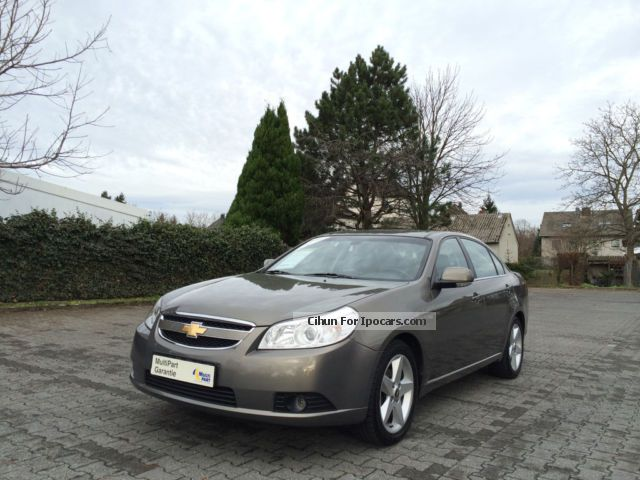 2007 Chevrolet  Epica 2.5 Auto LT LEATHER CLIMATE 1.HAND LPG GAS Saloon Used vehicle photo