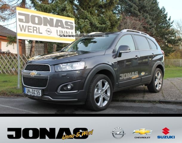 2013 Chevrolet  Captiva 2.2 LTZ 4x4 Auto Navi Leather mtl 269, - € Off-road Vehicle/Pickup Truck Demonstration Vehicle photo