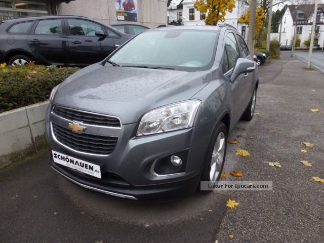2012 Chevrolet  Trax Auto 1.7TD LT + Off-road Vehicle/Pickup Truck New vehicle photo
