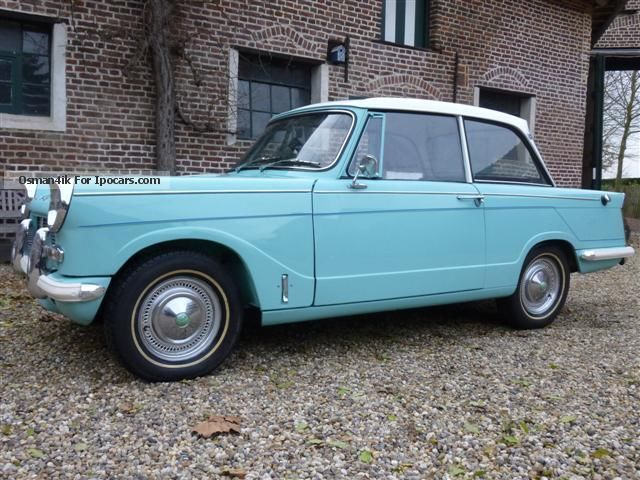 Triumph  HERALD 1200 convertible / hardtop 1968 Vintage, Classic and Old Cars photo