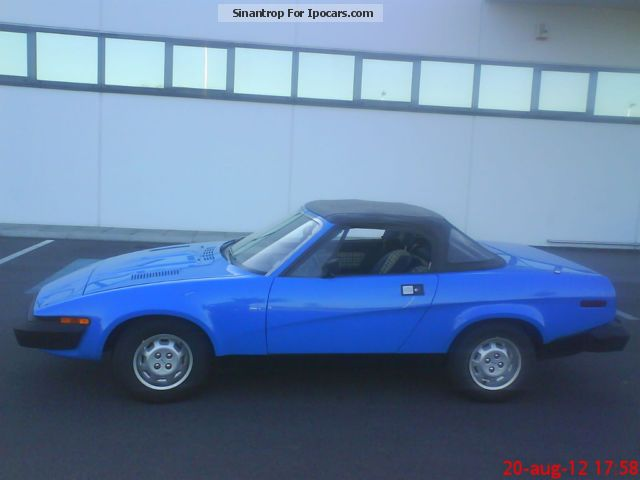 Triumph  TR7 1979 Vintage, Classic and Old Cars photo