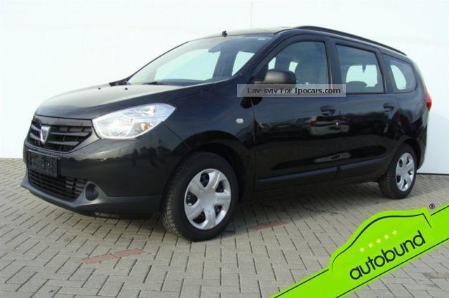 2013 Dacia  Lodgy 1.6 MPI 7 seater Immediately Available Estate Car Used vehicle photo