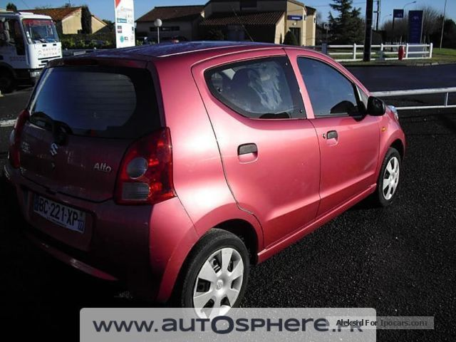 2010 suzuki alto ii 1 0 car photo and specs. Black Bedroom Furniture Sets. Home Design Ideas