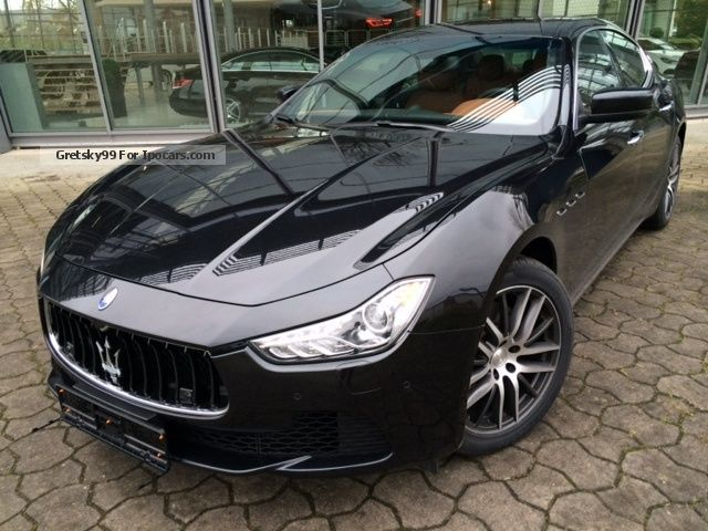 Used Maserati Ghibli >> 2013 Maserati Ghibli Diesel Automatic Car Photo And Specs