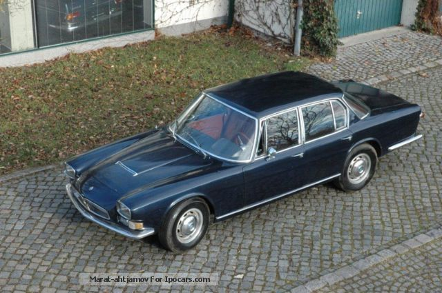 Maserati  Quattroporte Series I 4.2L V8 5-speed ZF 1966 Vintage, Classic and Old Cars photo