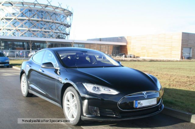 Tesla  Model S 85 kWh, New! EZ 19:12:13 2013 Electric Cars photo