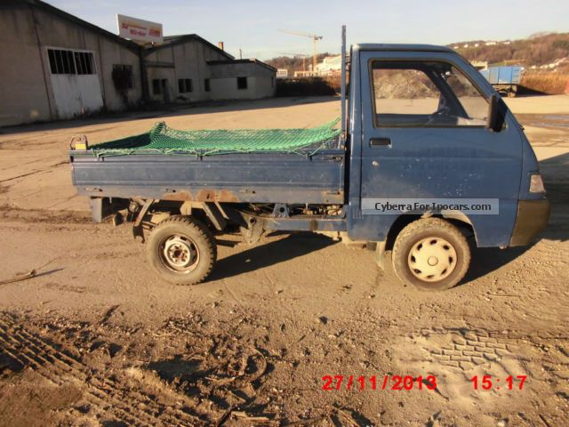 2002 Piaggio  Porter Small Car Used vehicle (  Accident-free ) photo
