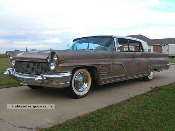 1960 Lincoln  Marrow Saloon Used vehicle photo