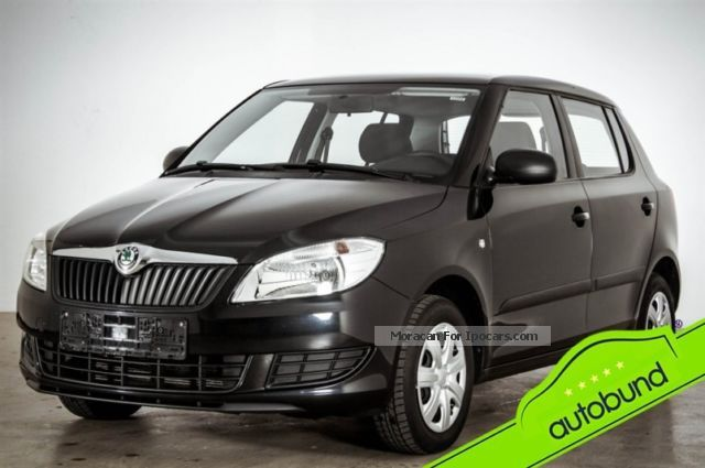 2012 Skoda  Fabia II 1.2 HTP facelift 5tg. Climate Saloon Used vehicle photo