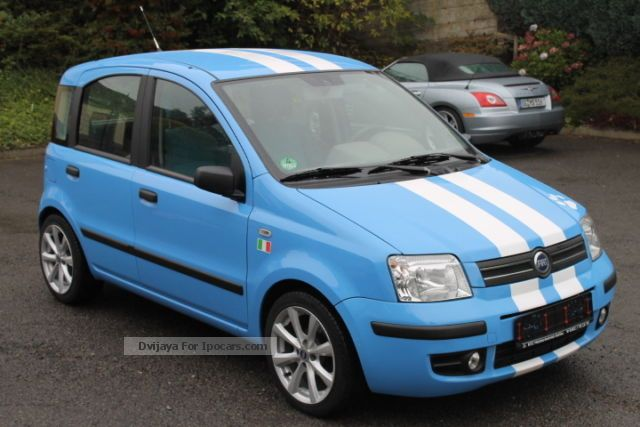 2005 fiat panda 1 2 dynamic special edition air 1 hand car photo and specs. Black Bedroom Furniture Sets. Home Design Ideas