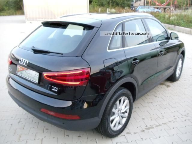 2013 audi q3 2 0 tdi quattro style automatic xenon alu17. Black Bedroom Furniture Sets. Home Design Ideas