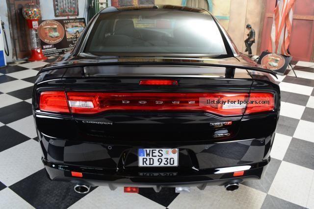 2013 Dodge Charger SRT8 SuperBee Black Edition with Gasanlag  Car
