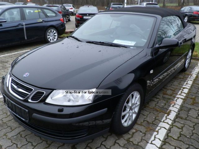 2005 Saab  9-3 1.8 t convertible (leather AHK Xenon) Cabriolet / Roadster Used vehicle ( For business photo