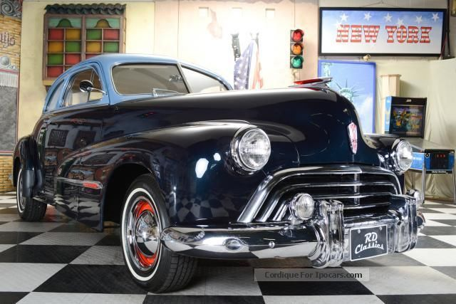 1947 oldsmobile club coupe series 66 car photo and specs for 1947 oldsmobile 4 door sedan
