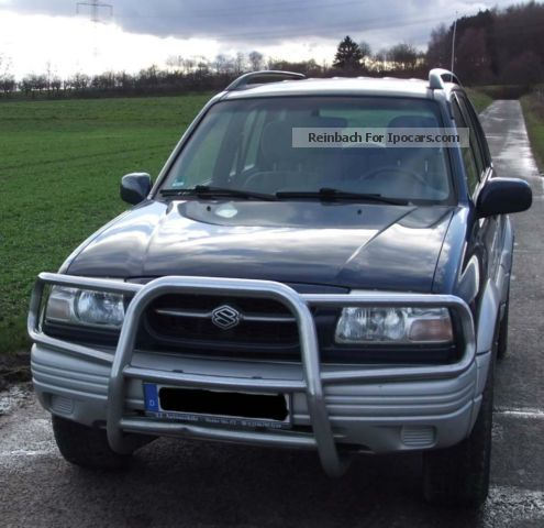Suzuki  Grand Vitara V6 2.5 1999 Liquefied Petroleum Gas Cars (LPG, GPL, propane) photo