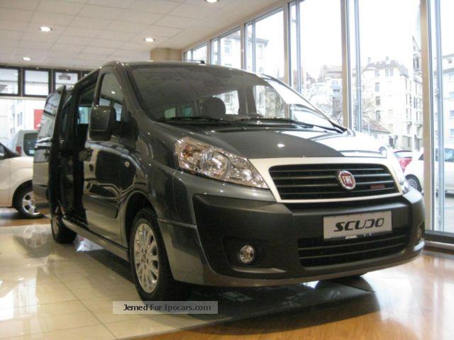 2012 Fiat  Scudo L2 (8 seats.) Panoramic Executive Van / Minibus New vehicle photo