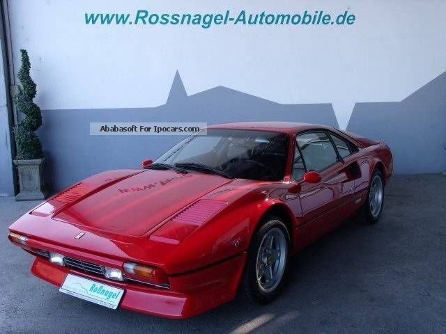 1981 Ferrari  308 GTB - from 2 Hand - German approval Sports Car/Coupe Used vehicle photo
