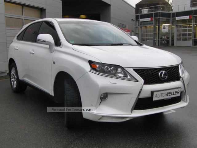 2013 Lexus  RX 450h (hybrid) F SPORT Off-road Vehicle/Pickup Truck Used vehicle (  Accident-free ) photo