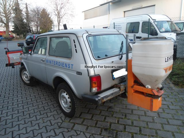 2006 Lada  Niva 4x4 - winter maintenance snow plow spreader Other Used vehicle (  Accident-free ) photo