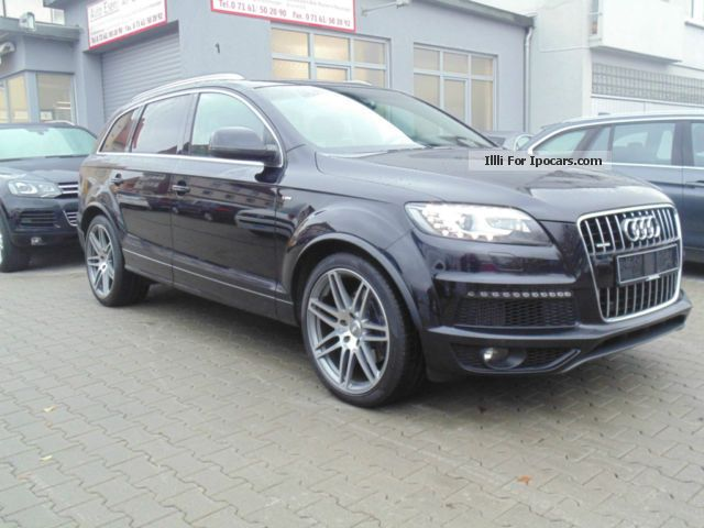 2010 audi q7 4 2 tdi dpf s line 2 x np 109000 car. Black Bedroom Furniture Sets. Home Design Ideas