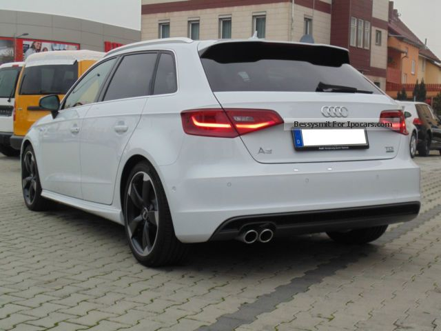 2013 audi a3 2 0 tdi s line sportb car photo and specs. Black Bedroom Furniture Sets. Home Design Ideas
