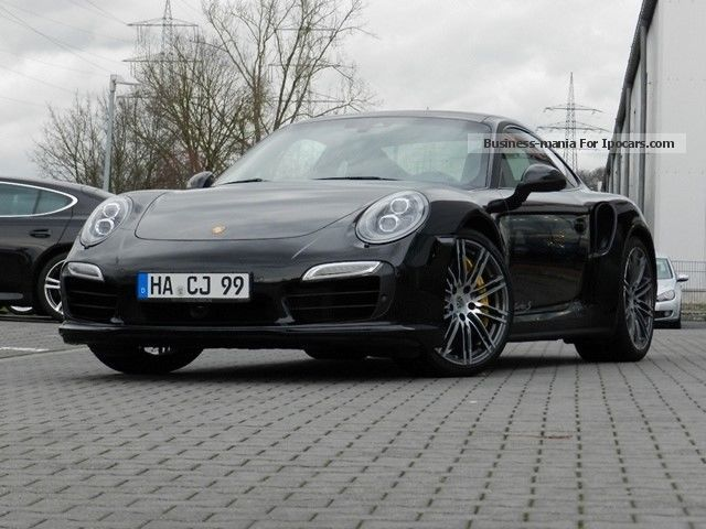 2014 Porsche 911 Turbo S Sports Car/Coupe Demonstration Vehicle photo