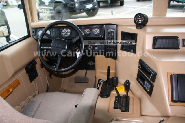 service manual 1995 hummer h1 rear door interior repair buy used 1995 hummer h1 automatic 4. Black Bedroom Furniture Sets. Home Design Ideas