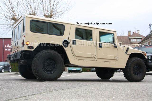 1995 Hummer  AM General HMCS 4 Dr SUV Wgn 5.7 ltr V8 Area 51 Off-road Vehicle/Pickup Truck Used vehicle (  Accident-free ) photo