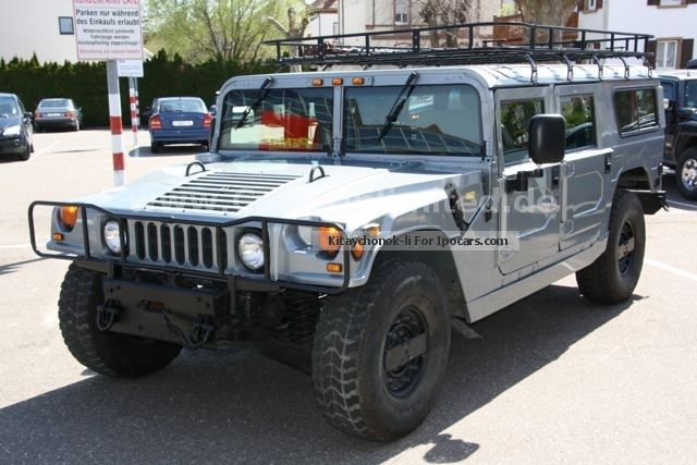 1996 Hummer  AM General HMCS 4 Dr. Wagon SUV 5.7-liter V8 FI Off-road Vehicle/Pickup Truck Used vehicle (  Accident-free ) photo