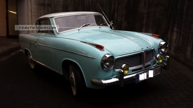 Borgward  Vintage Hansa 1100 Coupé 1959 Vintage, Classic and Old Cars photo