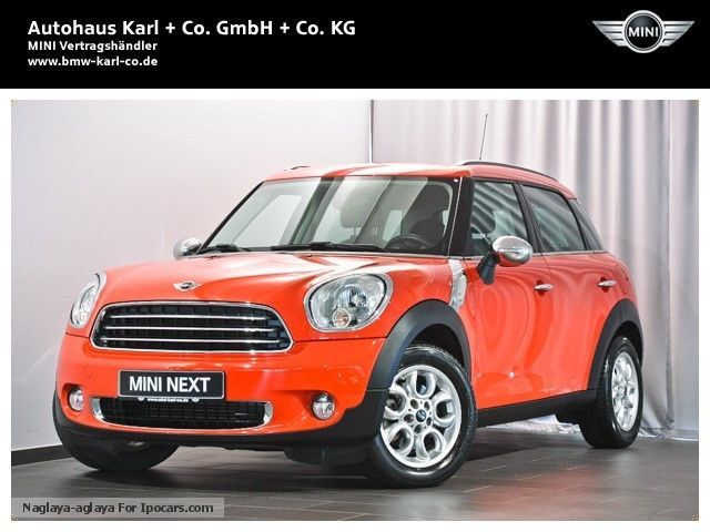2010 MINI  One D Countryman PDC seats climatronic Off-road Vehicle/Pickup Truck Used vehicle photo