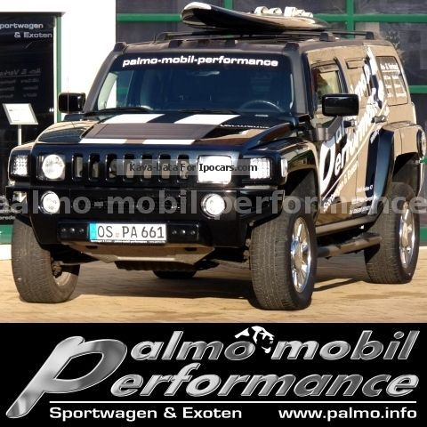 2012 Hummer  H3 Luxury Vortec 3.7 i (Leather Navi AHK GSD RFK) Off-road Vehicle/Pickup Truck Used vehicle(  Accident-free) photo