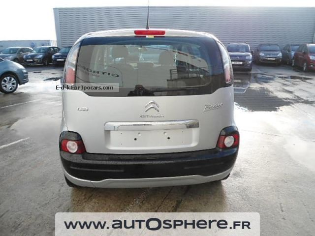 2013 citroen citro n c3 picasso confort 1 6 hdi90 car photo and specs. Black Bedroom Furniture Sets. Home Design Ideas