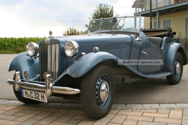 MG  TD very good condition, no rust 1953 Vintage, Classic and Old Cars photo
