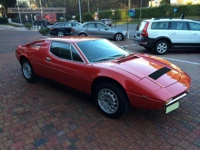 1977 Maserati  Merak SS TARGHE MODENA Sports Car/Coupe Classic Vehicle photo