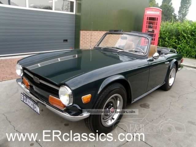 Triumph  Restored Roadster British Racing Green 1971 Race Cars photo