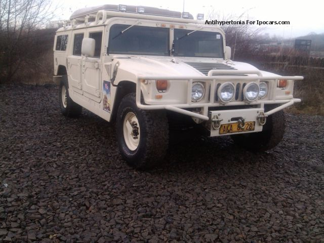 2012 Hummer H1 Car Photo And Specs