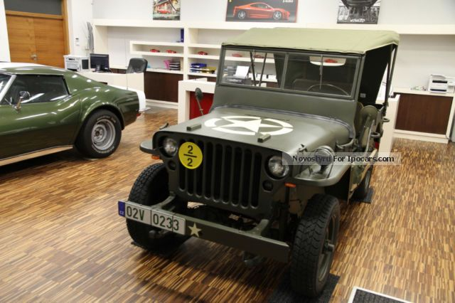 Jeep  Willys 1943 Vintage, Classic and Old Cars photo
