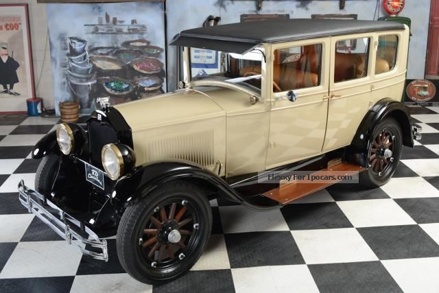 Buick  Century Model 128 4dr sedan 1927 Vintage, Classic and Old Cars photo